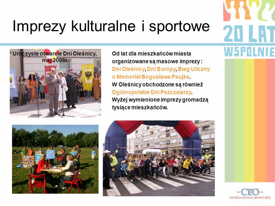 Imprezy kulturalne i sportowe