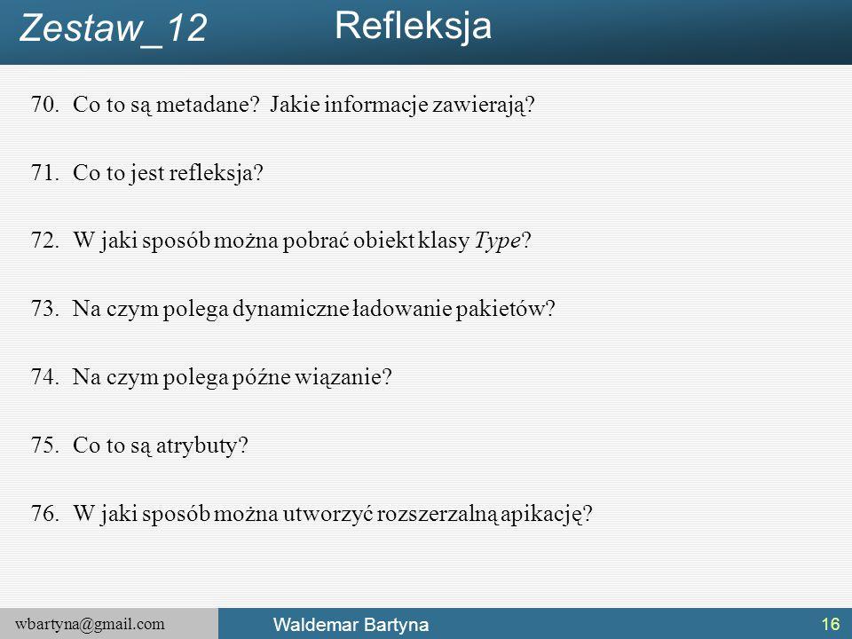 Refleksja Zestaw_12 Co to są metadane Jakie informacje zawierają