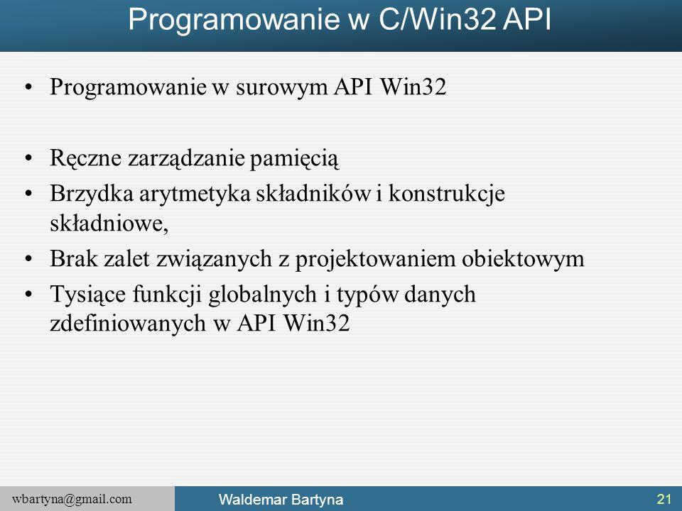 Programowanie w C/Win32 API
