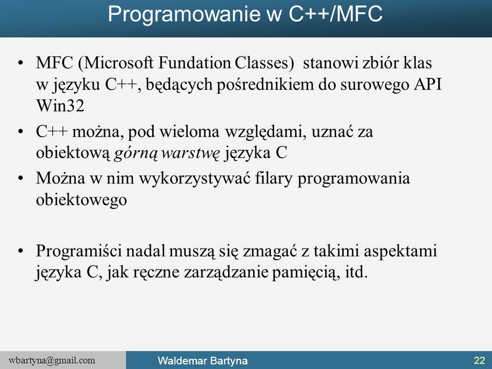 Programowanie w C++/MFC