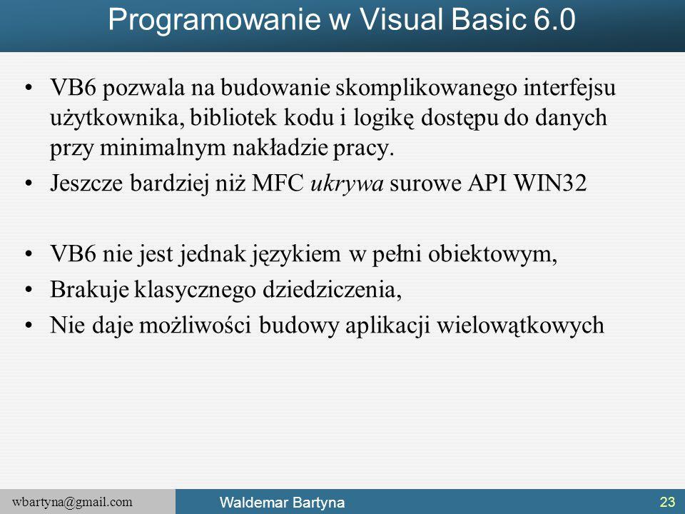 Programowanie w Visual Basic 6.0