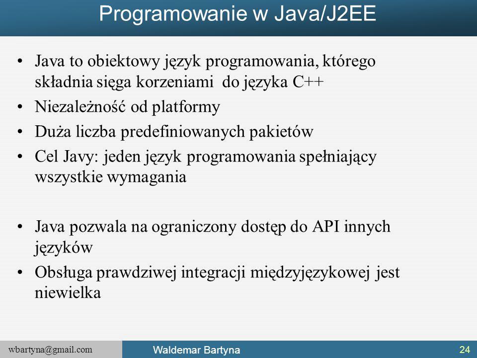 Programowanie w Java/J2EE