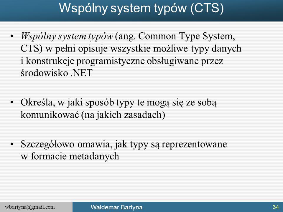 Wspólny system typów (CTS)