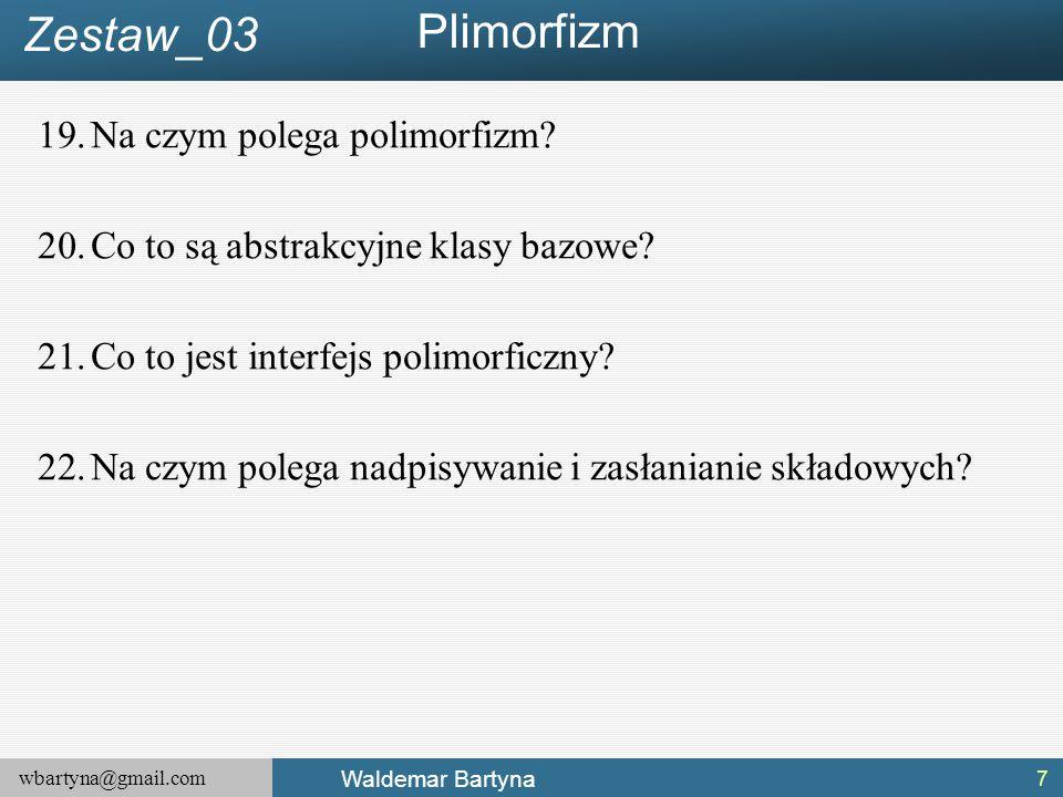 Plimorfizm Zestaw_03 Na czym polega polimorfizm