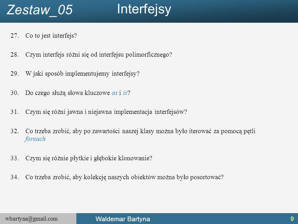Interfejsy Zestaw_05 Co to jest interfejs