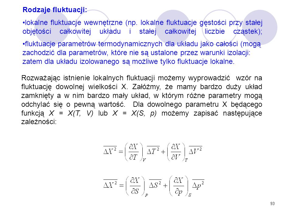 Rodzaje fluktuacji: