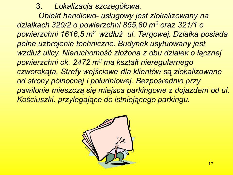3. Lokalizacja szczegółowa.