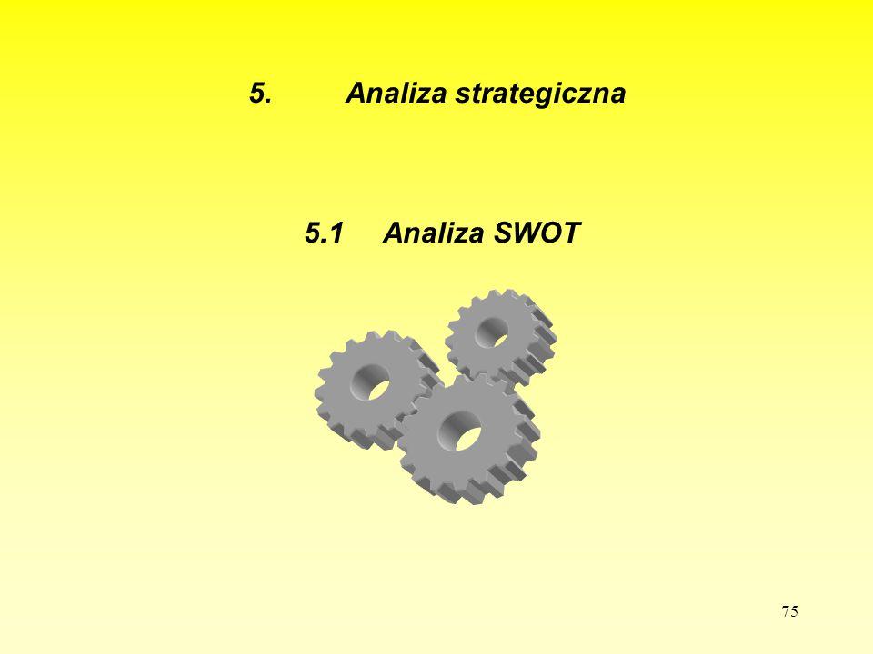5. Analiza strategiczna 5.1 Analiza SWOT