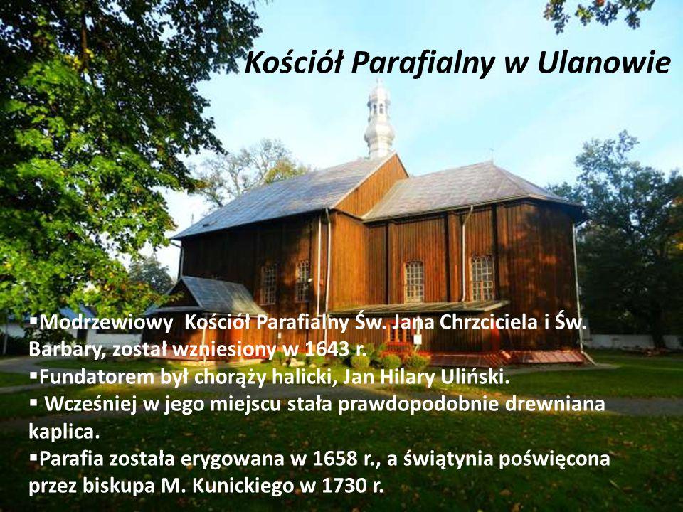 Kościół Parafialny w Ulanowie