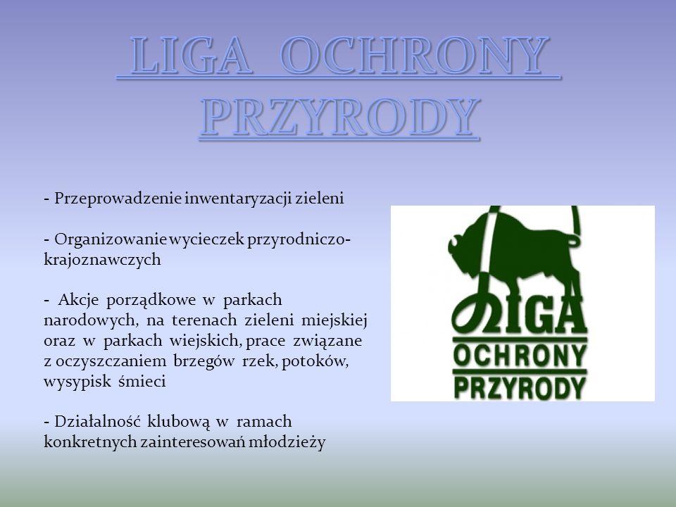 LIGA OCHRONY PRZYRODY Przeprowadzenie inwentaryzacji zieleni