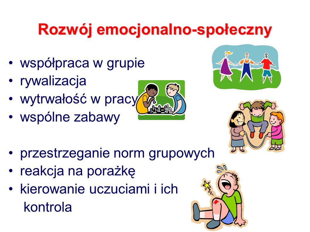 Rozwój emocjonalno-społeczny