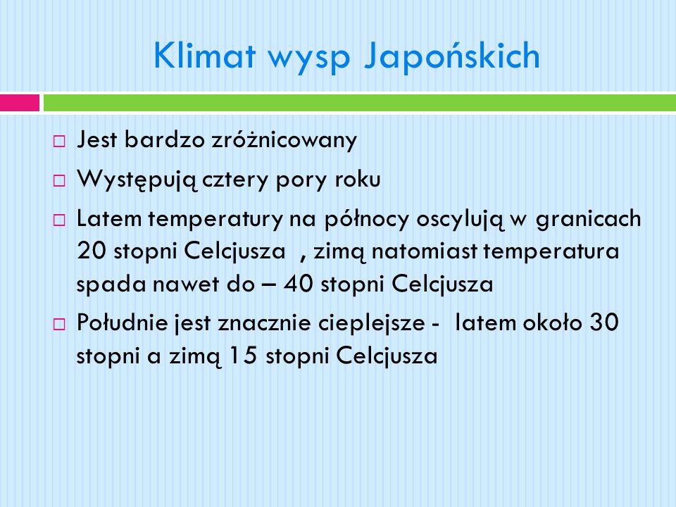 Klimat wysp Japońskich
