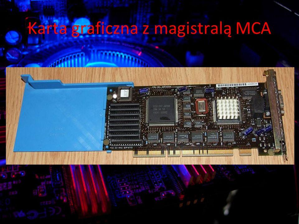 Karta graficzna z magistralą MCA