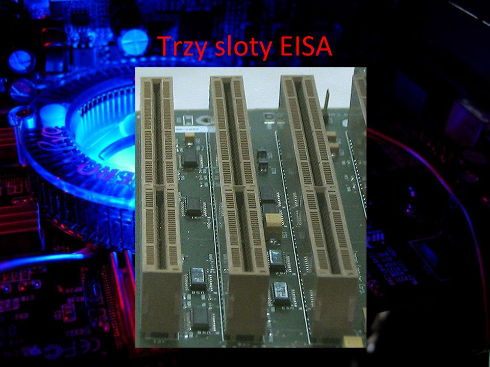 Trzy sloty EISA