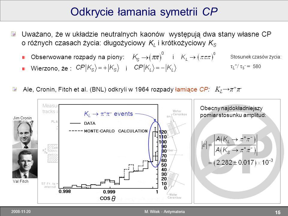 Odkrycie łamania symetrii CP