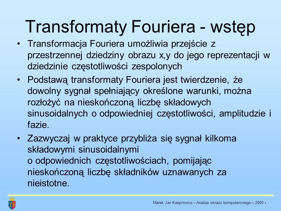 Transformaty Fouriera - wstęp
