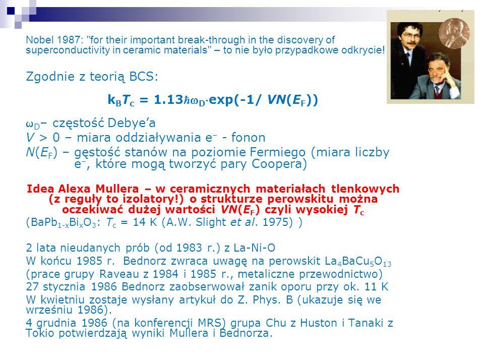 kBTc = 1.13wDexp(-1/ VN(EF))