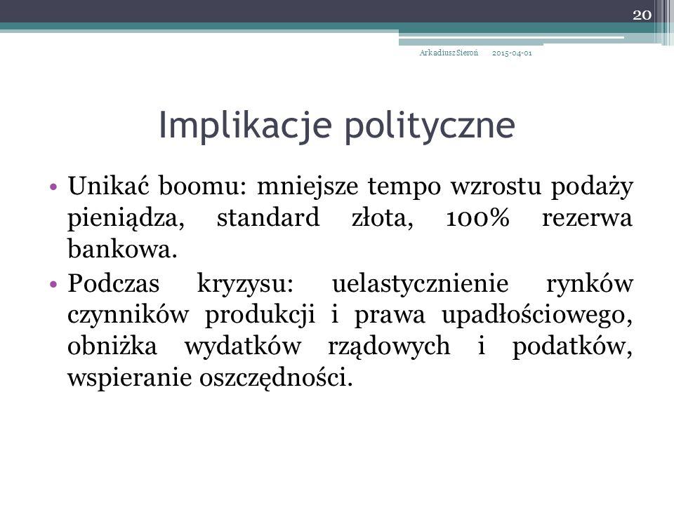 Implikacje polityczne