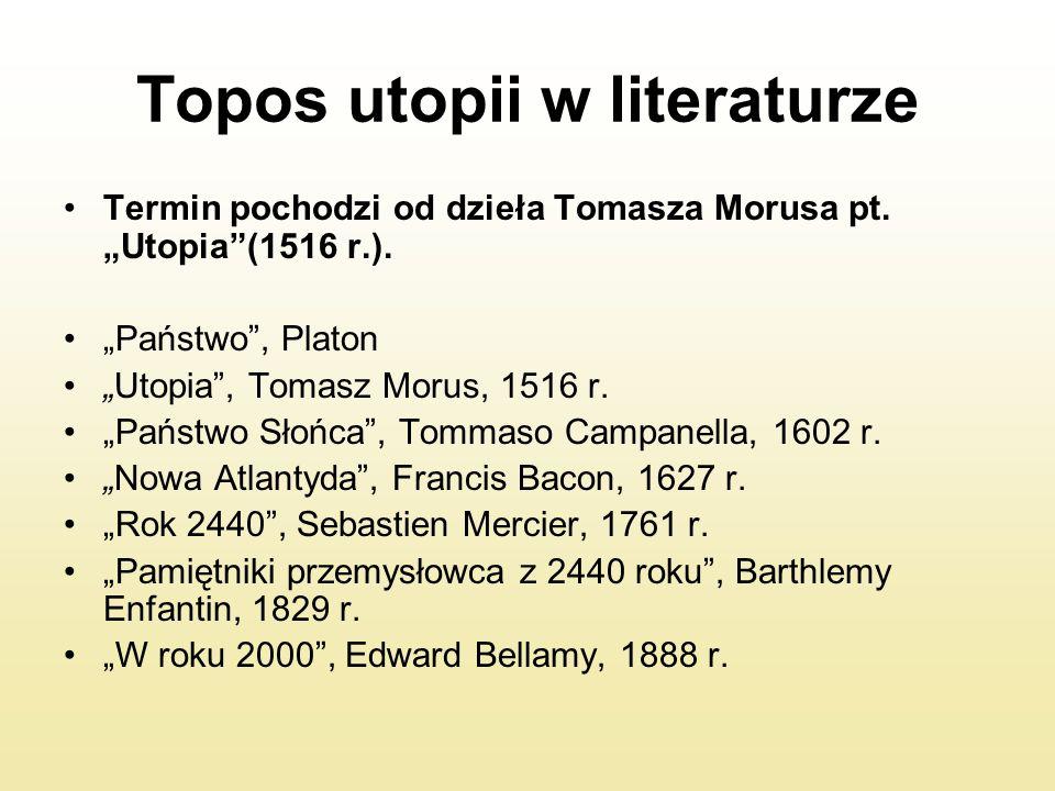 Topos utopii w literaturze