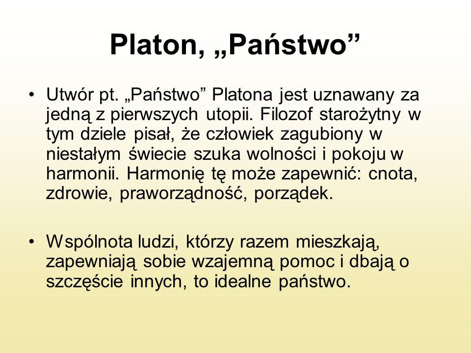 """Platon, """"Państwo"""