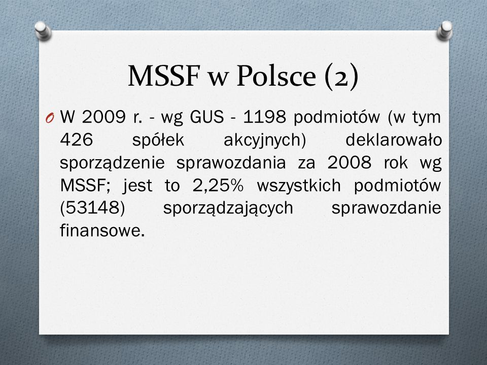 MSSF w Polsce (2)