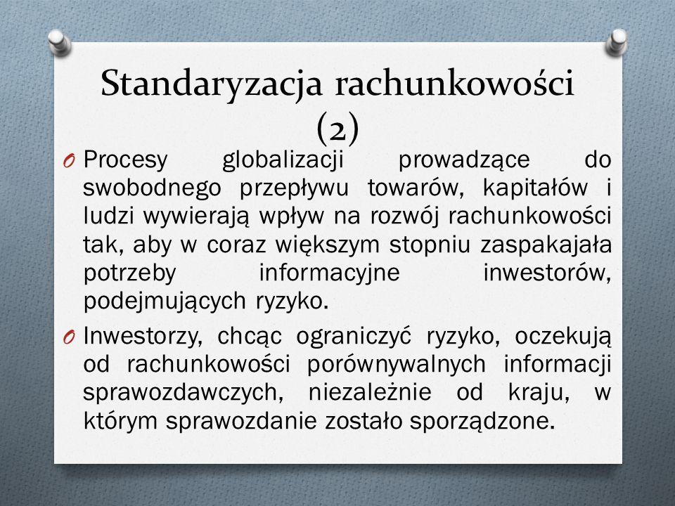 Standaryzacja rachunkowości (2)