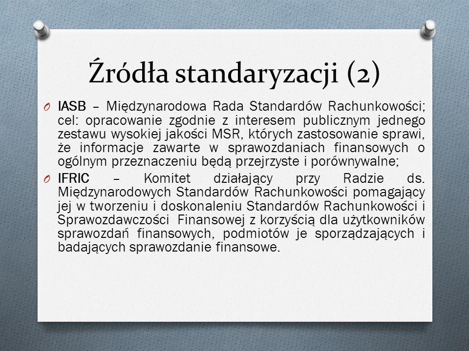 Źródła standaryzacji (2)