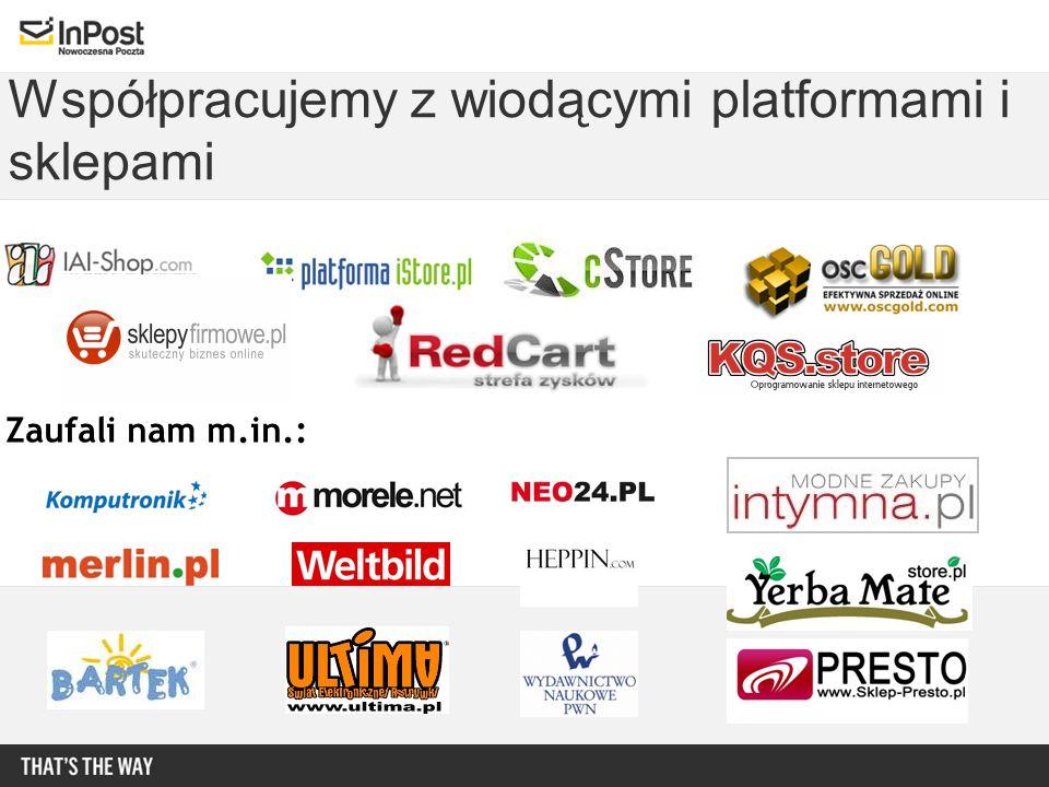 Współpracujemy z wiodącymi platformami i sklepami