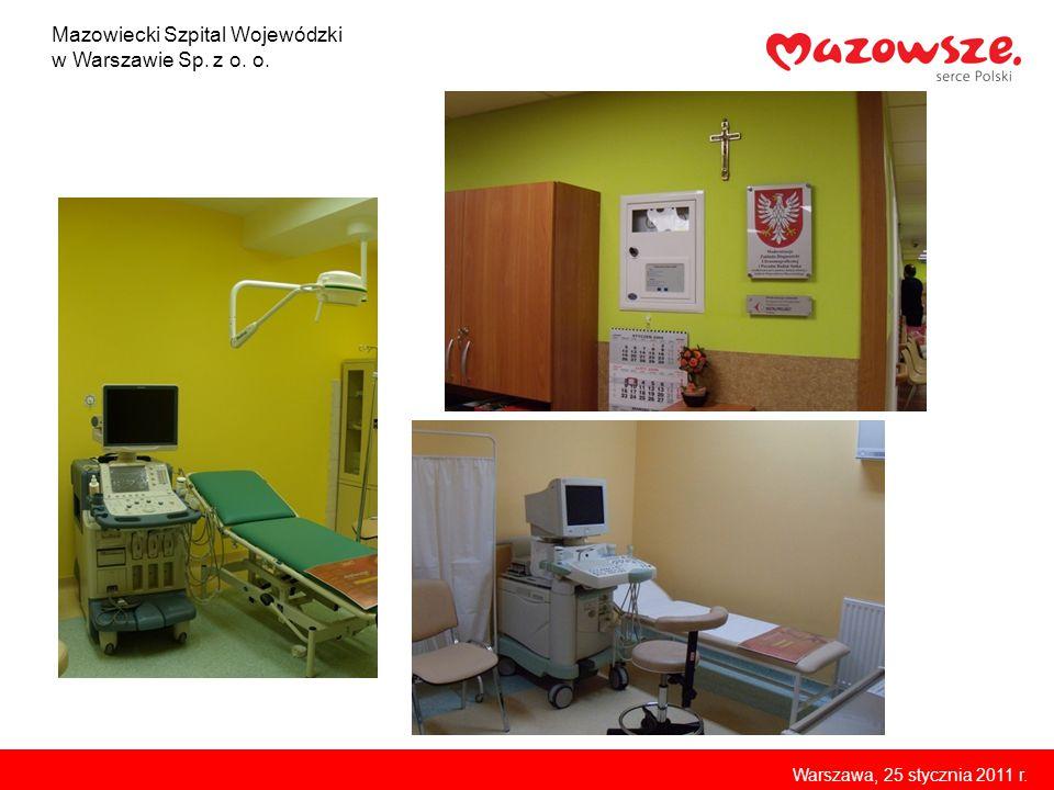 Mazowiecki Szpital Wojewódzki w Warszawie Sp. z o. o.