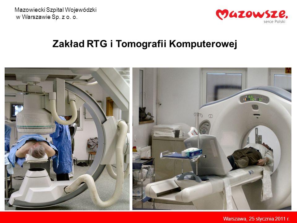 Zakład RTG i Tomografii Komputerowej