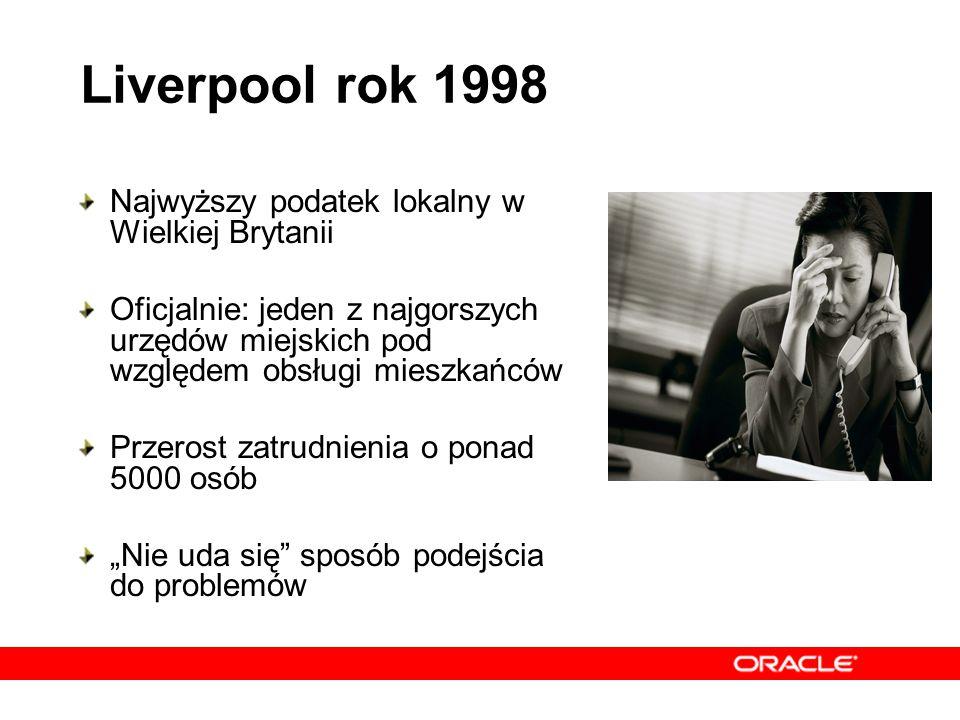 Liverpool rok 1998 Najwyższy podatek lokalny w Wielkiej Brytanii