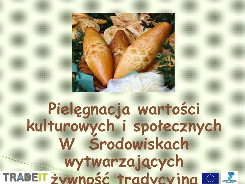 Pielęgnacja wartości kulturowych i społecznych W Środowiskach wytwarzających żywność tradycyjną