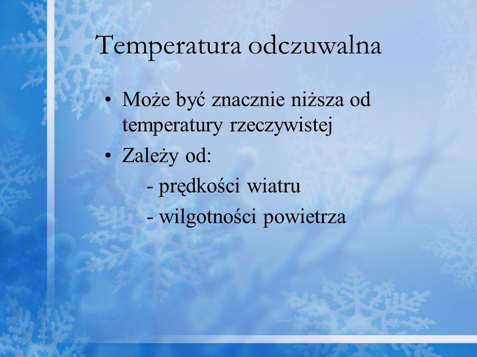 Temperatura odczuwalna