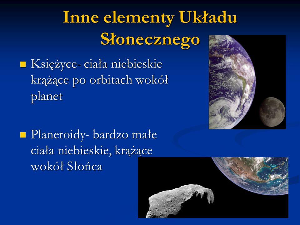 Inne elementy Układu Słonecznego