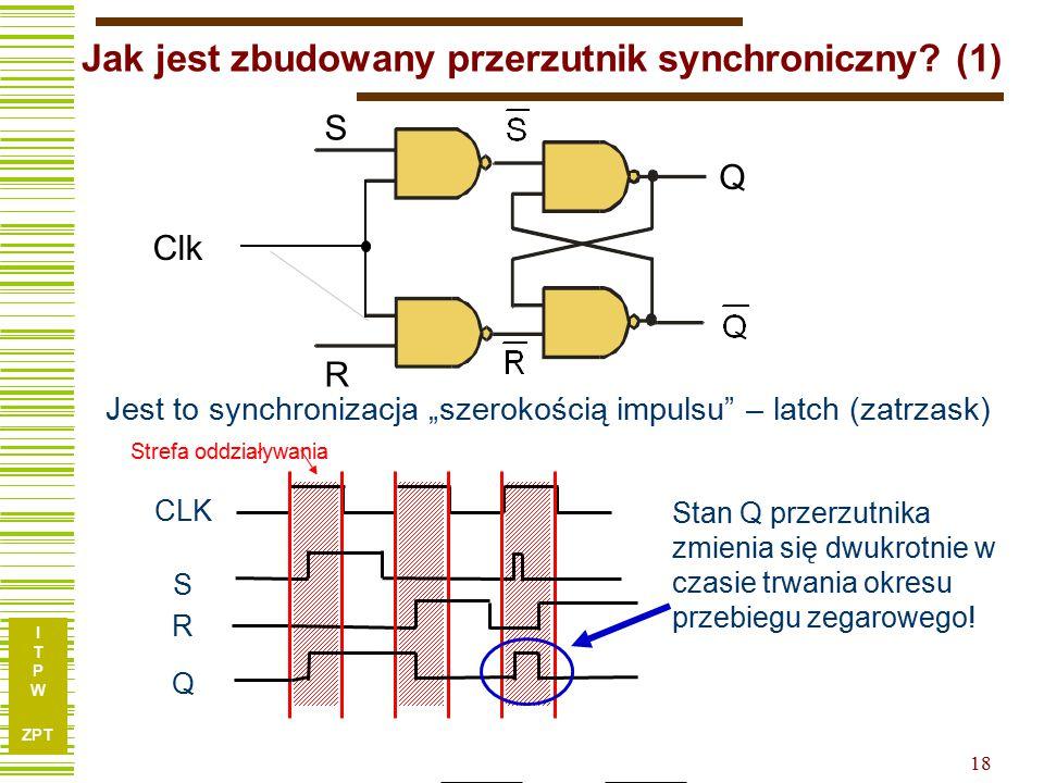 Jak jest zbudowany przerzutnik synchroniczny (1)