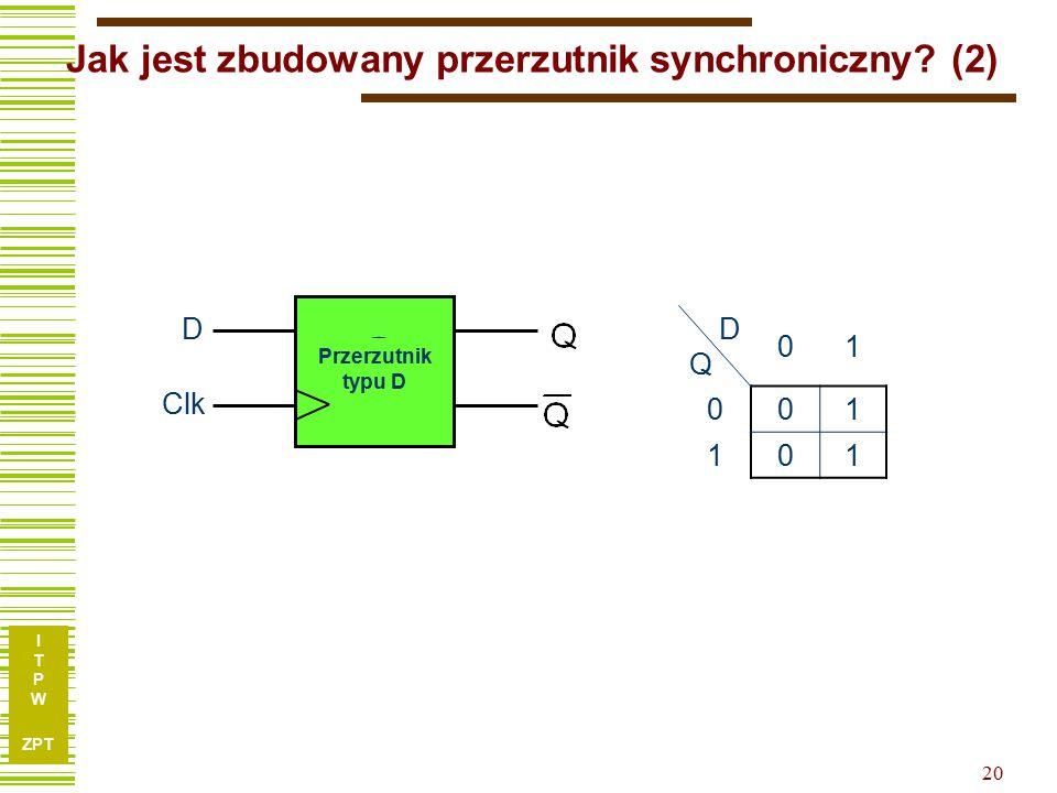 Jak jest zbudowany przerzutnik synchroniczny (2)