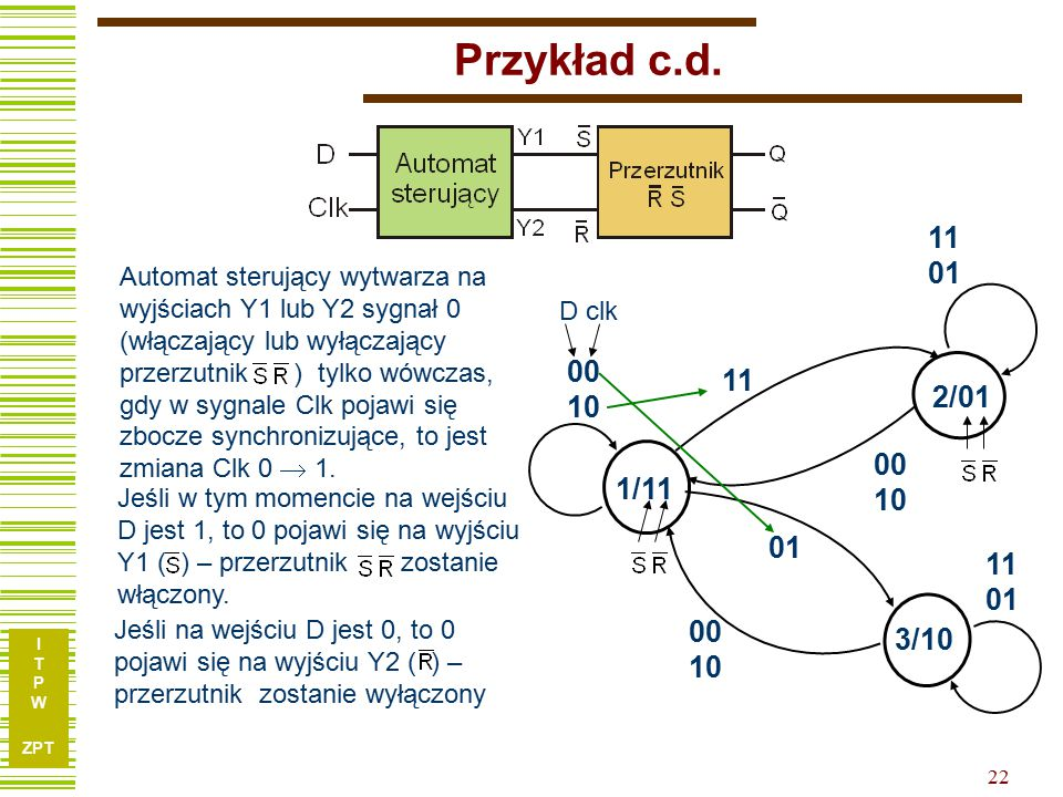 Przykład c.d. 11. 01.