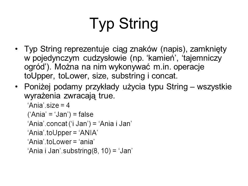 Typ String