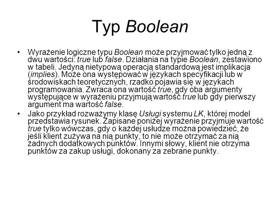 Typ Boolean