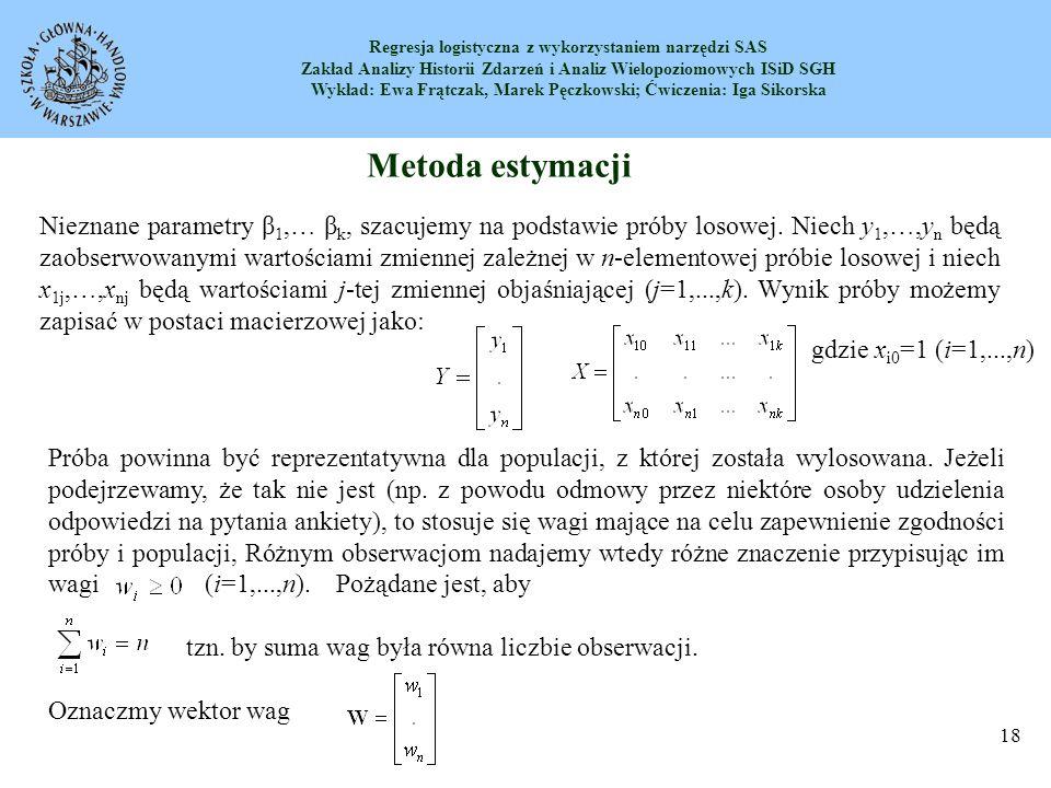 Metoda estymacji