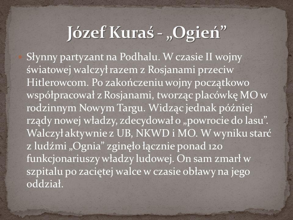 """Józef Kuraś - """"Ogień"""