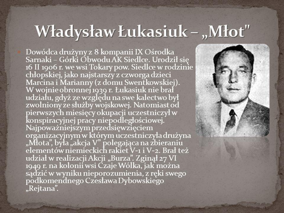"""Władysław Łukasiuk – """"Młot"""