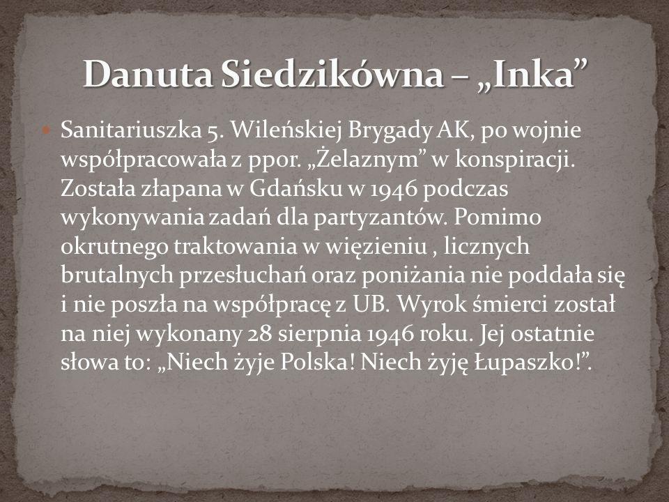 """Danuta Siedzikówna – """"Inka"""