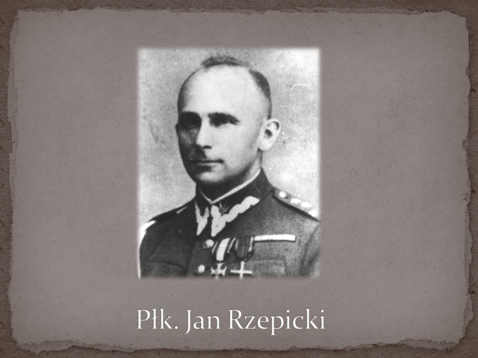 Płk. Jan Rzepicki