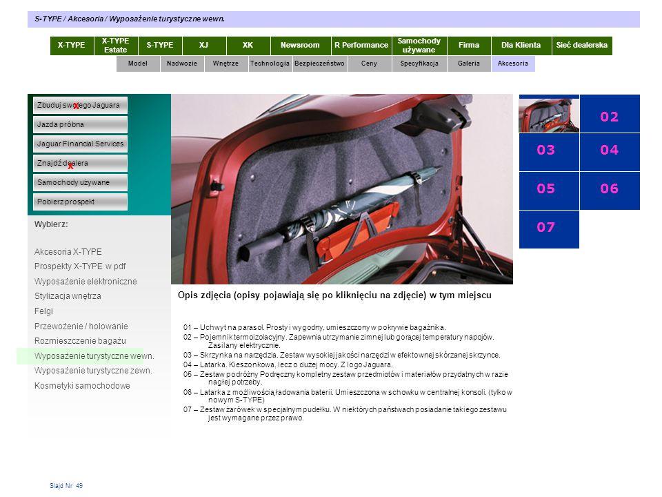 01 02 03 04 05 06 07 x x X-TYPE 2.0 Diesel X-TYPE 2.0 Diesel