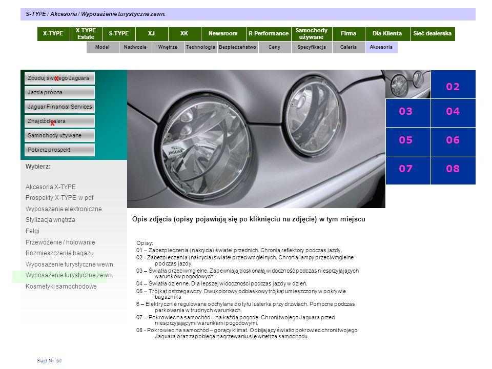 01 02 03 04 05 06 07 08 x x X-TYPE 2.0 Diesel X-TYPE 2.0 Diesel