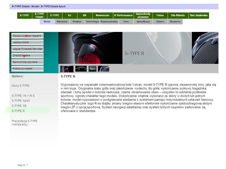 X-TYPE Estate / Model / X-TYPE Estate Sport