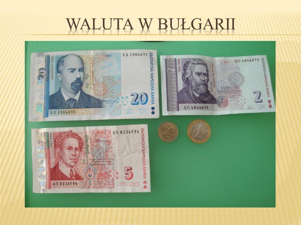 Waluta w Bułgarii