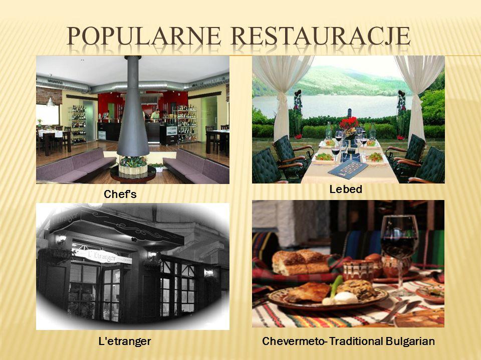 Popularne restauracje