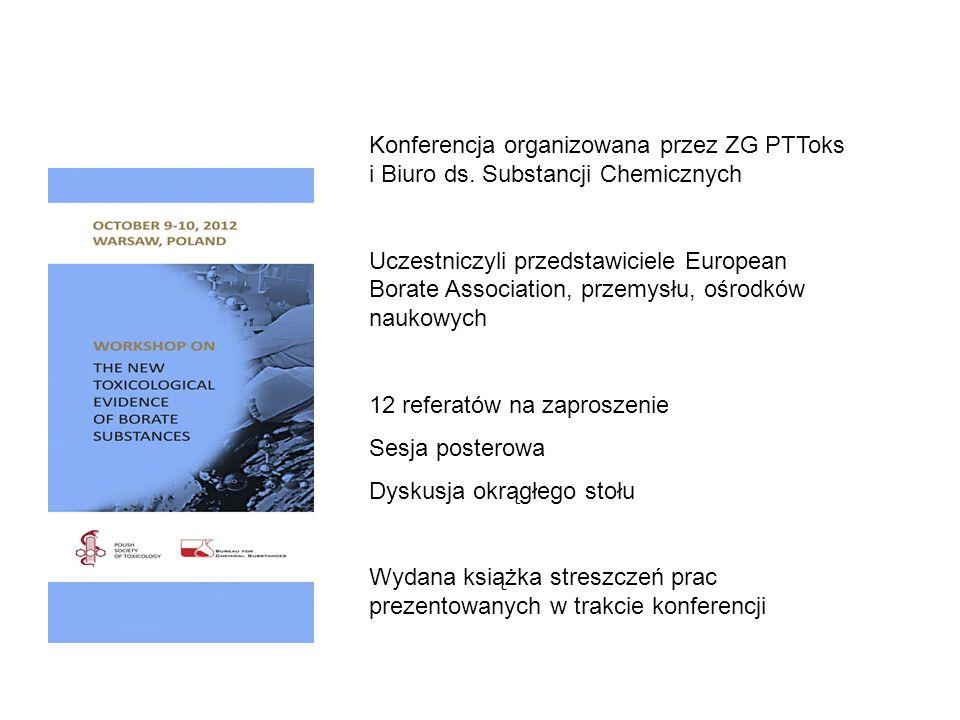 Konferencja organizowana przez ZG PTToks i Biuro ds